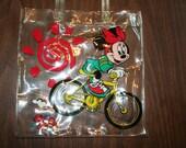 80s ViNtAgE minnie Mouse plastic Purse bag