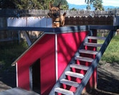 Dog House, custom two story