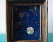 Deconstructed Timepiece Vintage Shadowbox