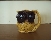 Vintage Owl Creamer