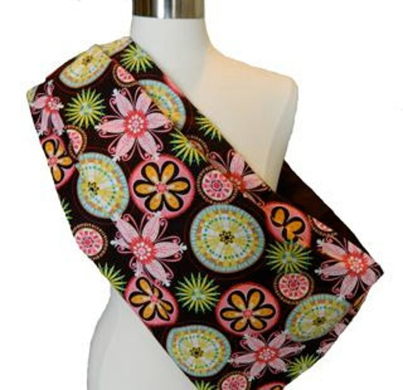 Reversible Pet Sling - Pink Espresso for Dogs and Cats - Size L/XL