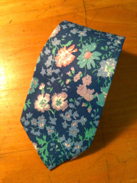 Vintage Royal Floral Liberty of London Tie