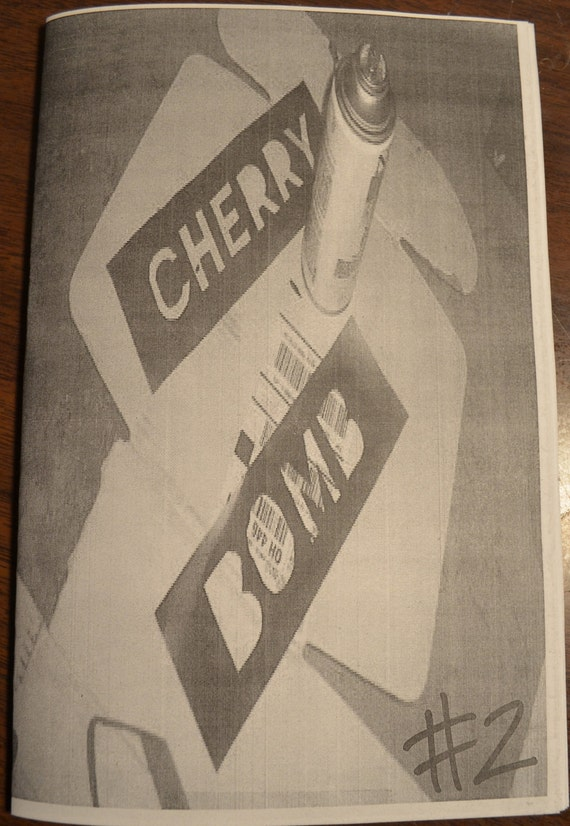 Cherry Bomb Zine Issue 2 - A Riot Grrrl Submissions Based Zine