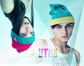 UTHA phat hat .....UTHA unisex slouch beanie ... trendy convertible hat