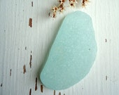Aqua Mint Green Sea Glass Wonderful  Rare big  piece