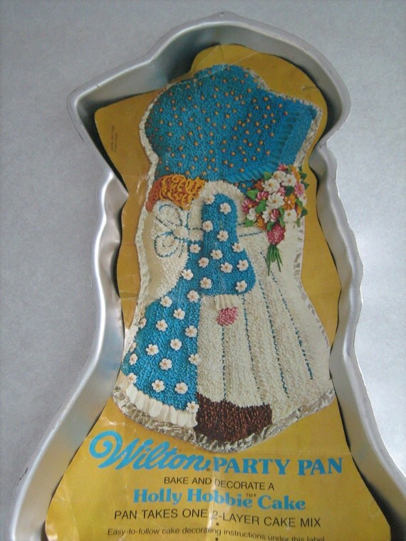 Holly Hobbie Cake Pan