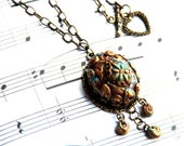 """Vintage inspired necklace - """"Enchanted"""""""