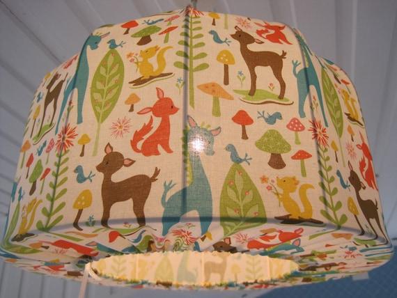 Lampshade, Pendant light, retro animals, very nice