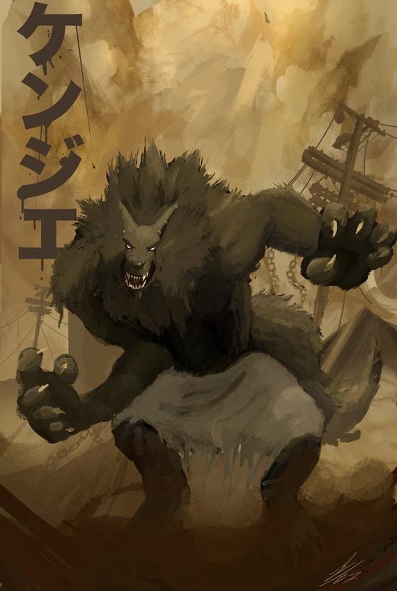 Kenjie Werewolf Cover