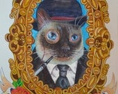"Personification of Pet's Personality Portrait Package 8"" x 10"""