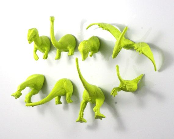 Dino magnet set