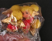 Vintage Angel Picks, Vintage Craft Picks, Vintage Christmas Picks, Miniature Angel