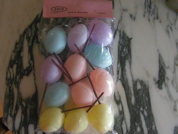 Vintage Easter Egg Picks