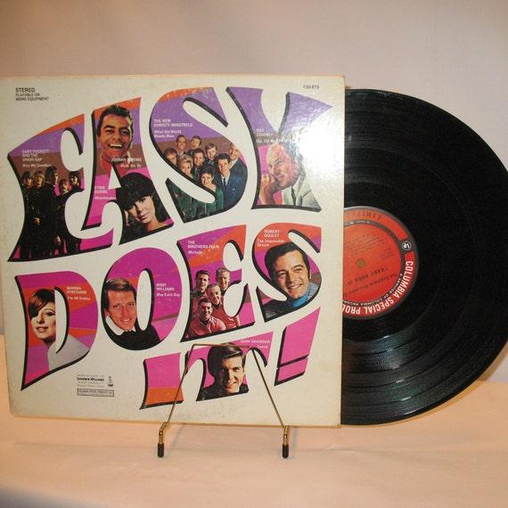 60's Album Vinyl Barbara Steisand Johnny Mathis