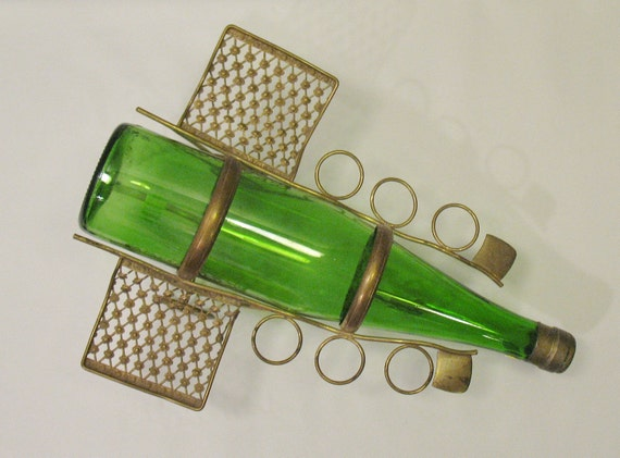 Plane Wine Bottle Carriage