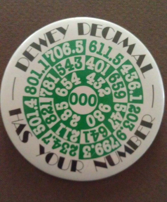 Library Button: 1978