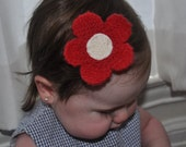 Red Flower Bows