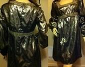 SALE! Gold Metallic New Years Dress