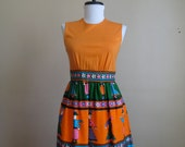 Vintage Maxi Dress / Size XS / Mr. Jac Jr by Martin Marks