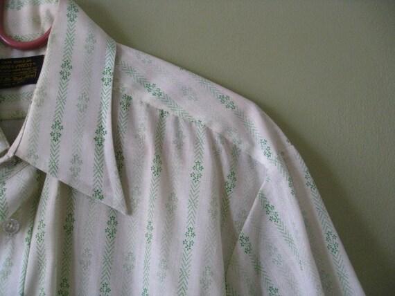 Men's Vintage Buttondown Sears Summer Shirt.