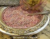 German Glass Glitter VINTAGE ROSE 70 Grit- Great Sparkle 100% Pure