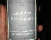 Homemade Vegan Friendly Laundry Detergent Unscented sample