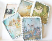 Fairy Art Wafer Papers for Cookies -- Edible Images