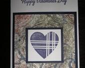 Plaid Heart - Happy Valentine's Day