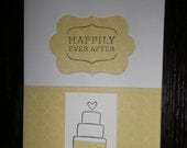 Happily Ever After (4 colors)  - Wedding Cake