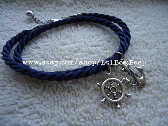 Charming Nautical Themed Bracelet