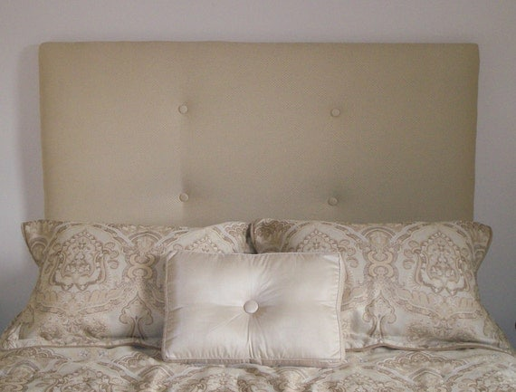 Items similar to custom upholstered queen headboard with buyer supplied fabric on etsy - Hoofdbord wit hout ...