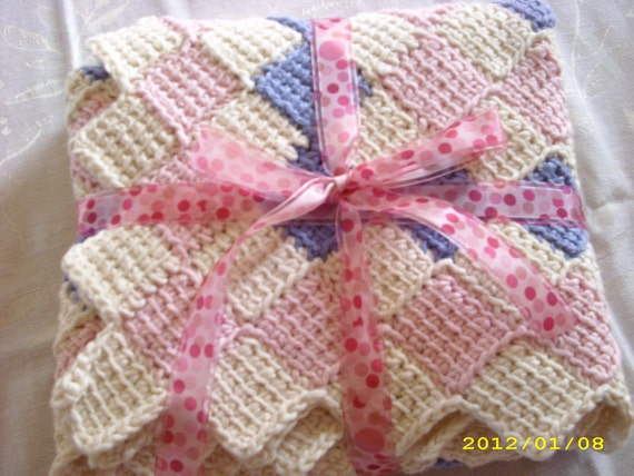 Cuddly Crocheted Baby Blanket