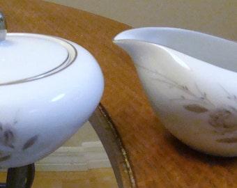 Vintage Makasa Suger Bowl and Creamer