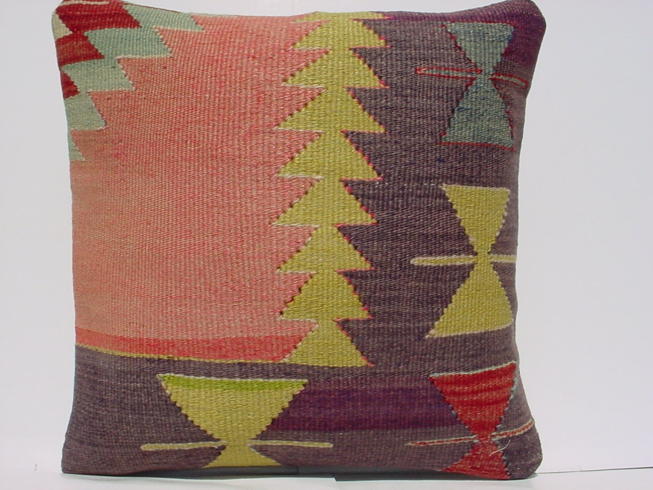 Modern Kilim Pillows : MODERN Bohemian Home DecorTurkish Kilim Pillow by TurkishKilimRug