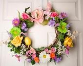 Spring-Eastern Wreath (Family love)
