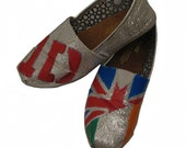 One Direction Inspired TOMS shoes