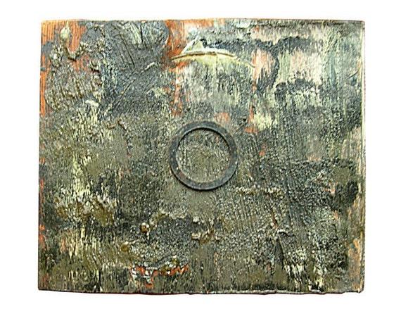 Wabi Sabi Series, Paintings on Reclaimed Wood, 17
