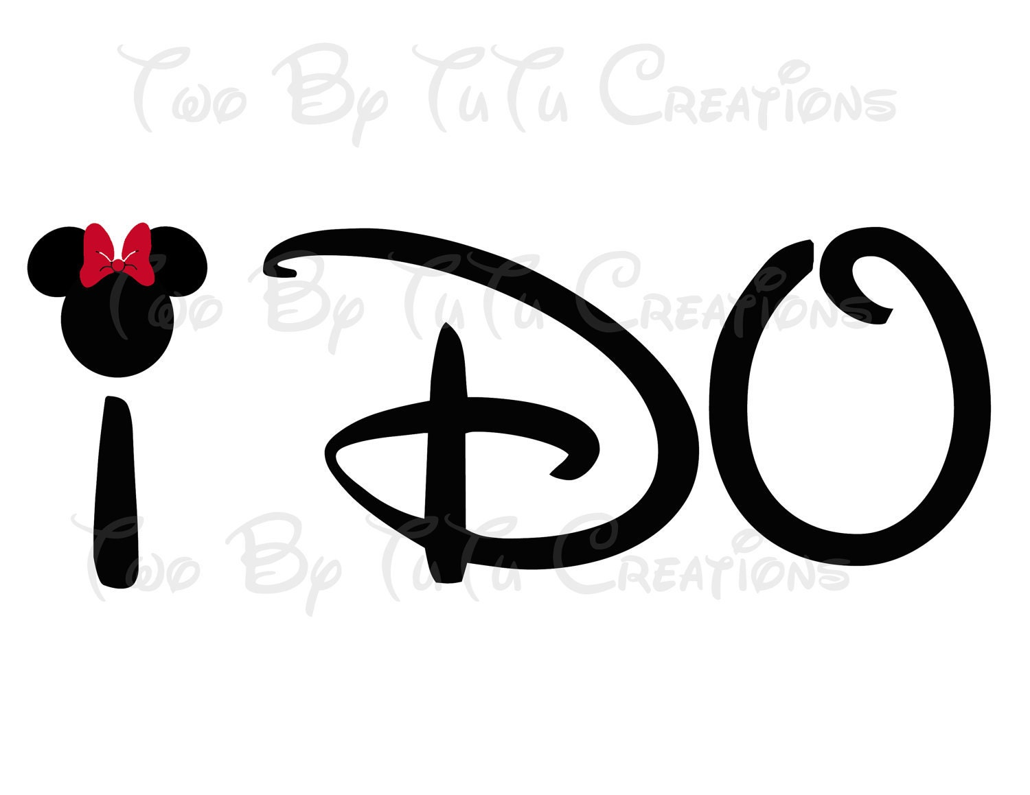Mickey Mouse Wedding Clipart