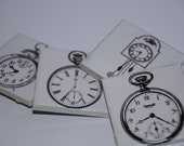 Clocks Ceramic Tile Magnet Set