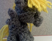 Derpy Amigurumi Pocket Pony - My Little Pony Handmade Filly plush