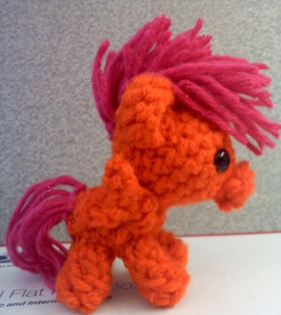 Ponytail Amigurumi : Scootaloo Plush Pocket Pony My Little Pony by xanthestar ...