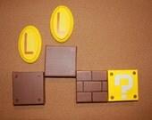 Mini Mario Blocks and coins