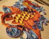 Quiller Koi - Paper quilling art Custom Build