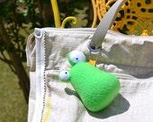 Baby Doodle Froggy Plush Keychain