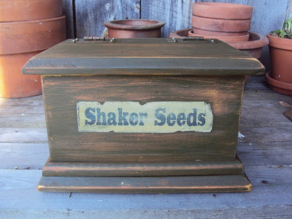 Handcrafted Seed Box
