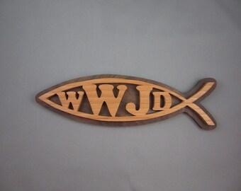 Ichthus Fish WWJD