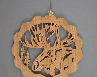 Elegant Moose Head