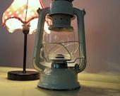 SALES 20% OFF - Vintage Swallow Brand Cream Camping Lantern