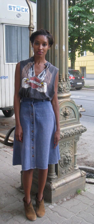 Jackie Denim Skirt