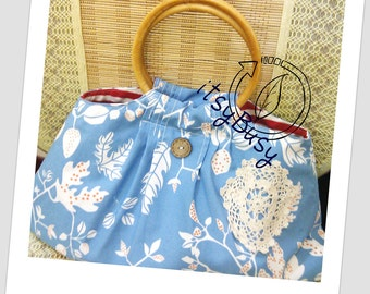 PDF Sewing Pattern Bag Pleated - No.10 Eleanor
